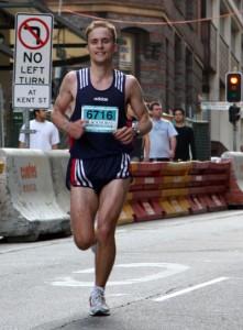 Sydney Marathon - bei KM 27
