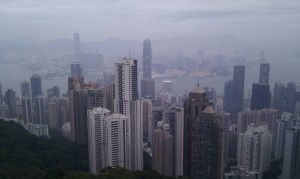 Hongkong - Aussicht vom Peak Tower