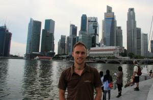 Sightseeing in Singapur