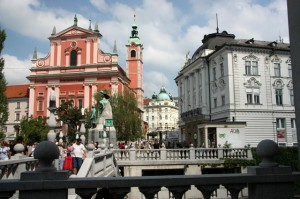 Sightseeing in Ljubljana