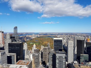 Ausblick vom Rockefeller Center