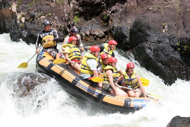 River Rafting auf dem Tully River