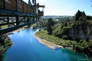 Bungy Jump in Taupo