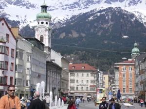 Kurzbesuch in Innsbruck