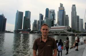 Sightseeing in Singapur
