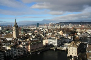 Sightseeing in Zürich