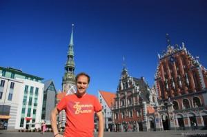 Sightseeing in Riga