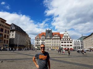 Zu Besuch in Leipzig